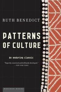 ruth benedict the individual and pattern of culture Patterns of culture homework help questions what do the terms apollonian and dionysian mean in ruth benedict's patters of culture benedict's ideas, drawn from nietzsche concept of opposites .